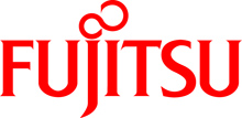 Fujitsu logo samarbetspartner