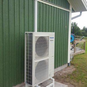 luftkonditionering utedel